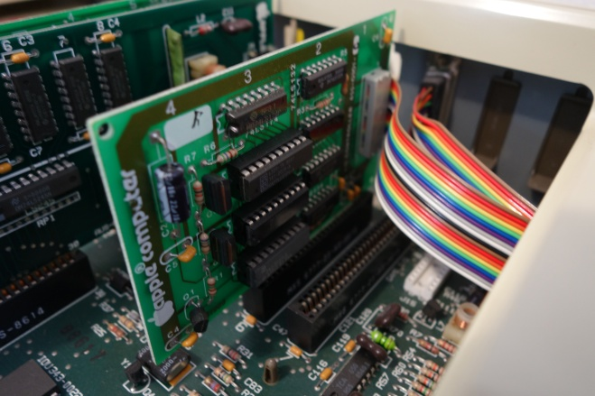 Special DuoDisk controller card, compatible only with the DuoDisk drive.