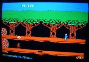 Some games are almost essential to play on a colour monitor - Pitfall II being one of them.