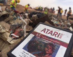 Copies of E.T. were recently uncovered in a New Mexico landfill after years of speculation